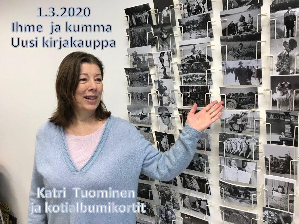 Kirjakauppias Katri Tuominen 20200301