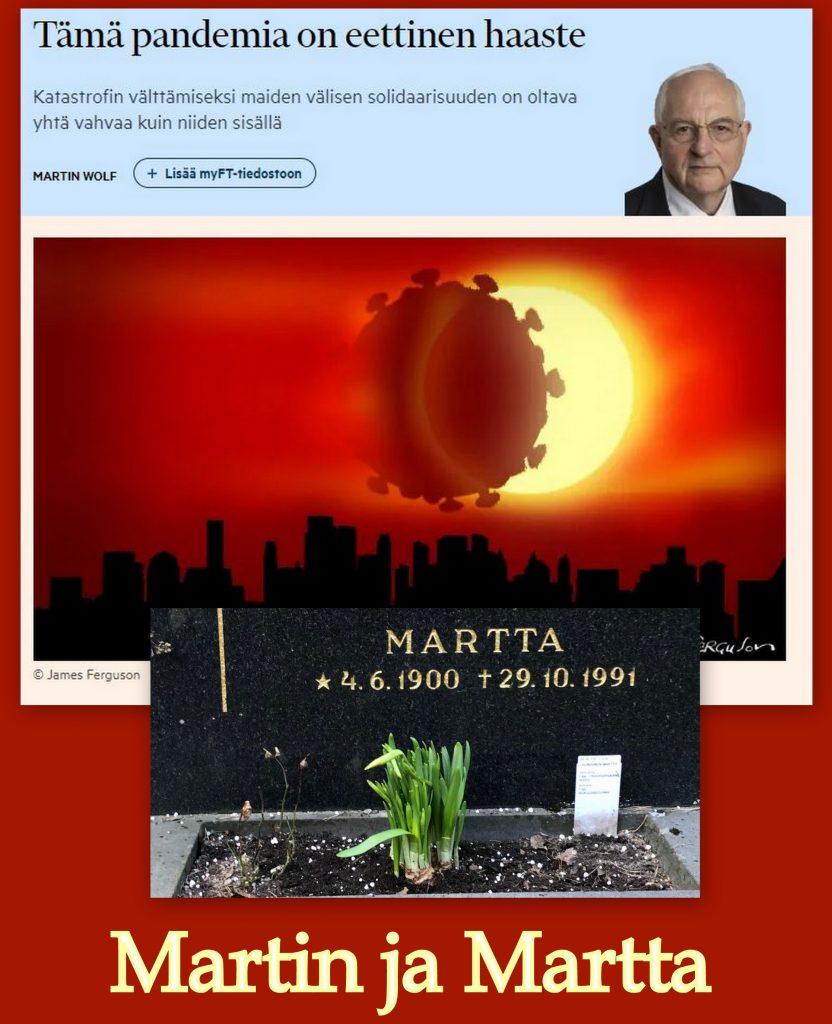 Martin ja Martta 20200329