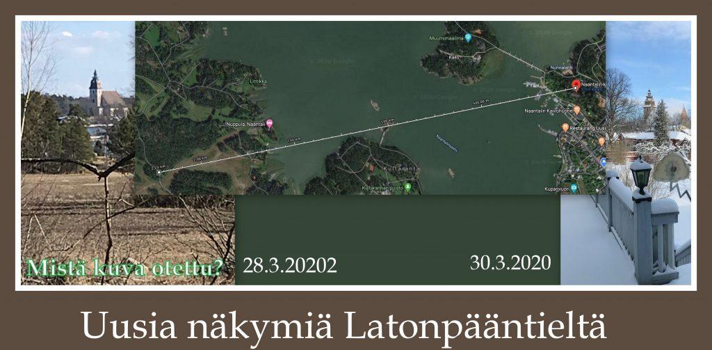Uusia näkymiä Latonpääntieltä 20200330jpg