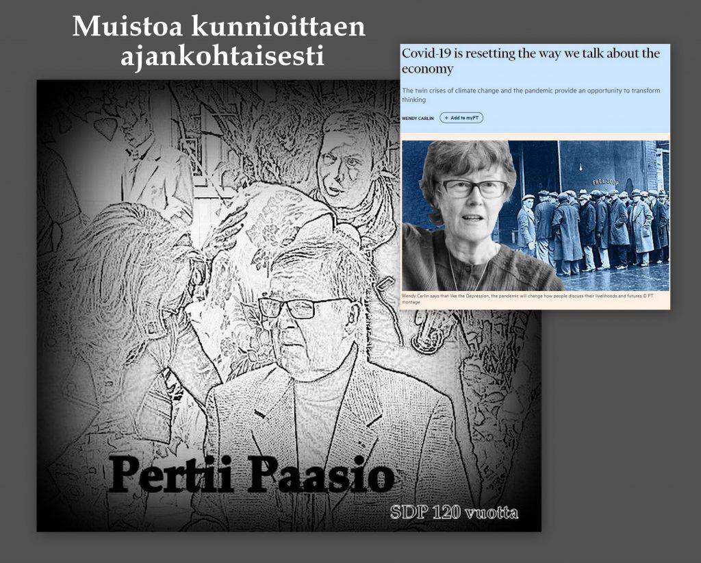 Pertti Paasion muistoa kunnioitten ajnkohtaiseti 20200423