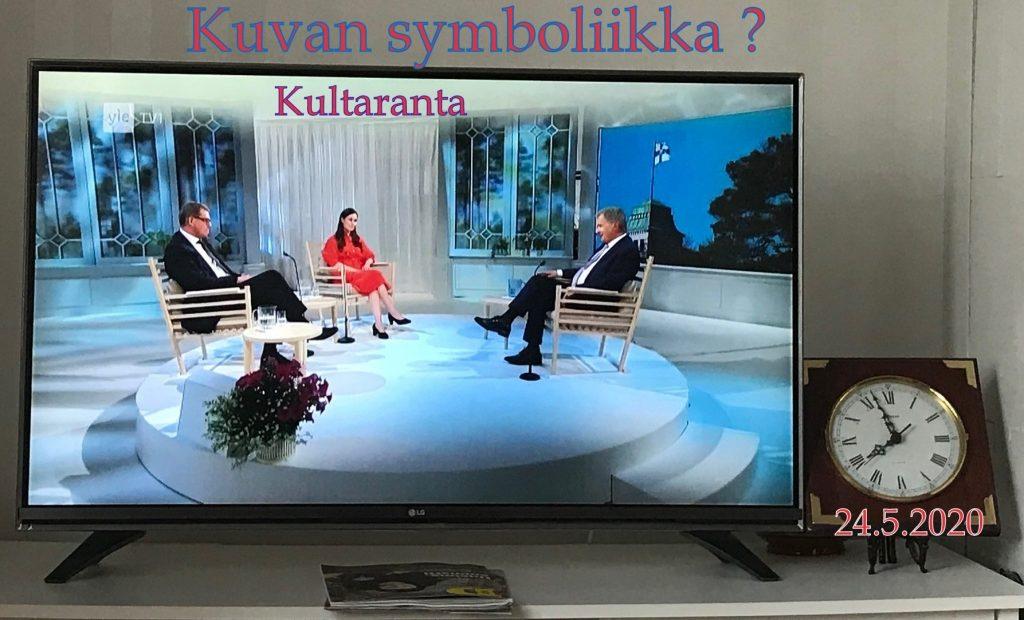 Kultaranta 2020 Niinistö , Vanhanen ja Marin 20200524