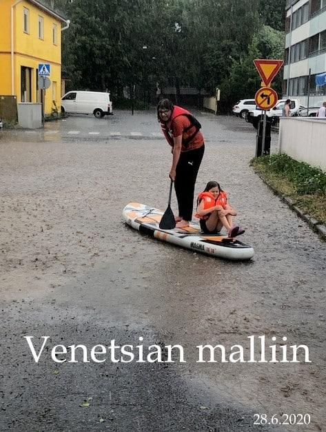 Venetsiaa Naantalissa 20200628