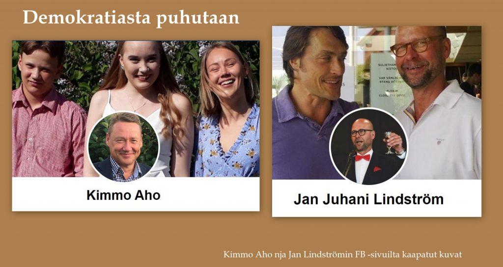Kimmo Ahon ja Jan Linströmin fb kuvat 20200813jpg