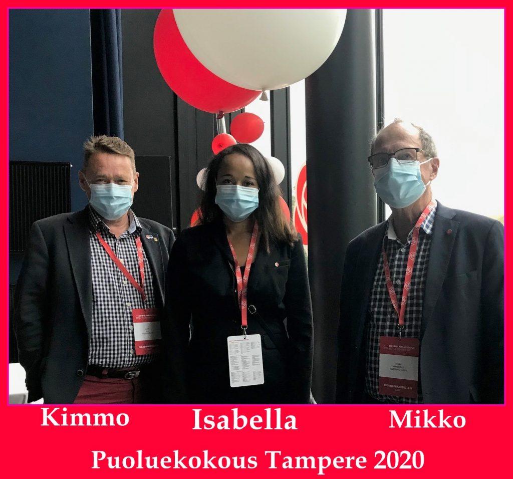 Kimmo, Isabella, Mikko 20200822