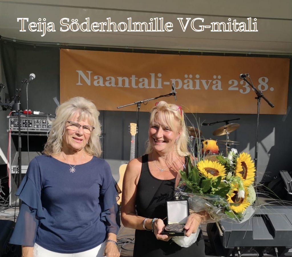 Teija Söderholm ja Mirja Kujaal A 20200823