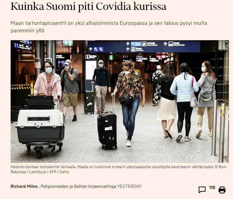 Suomi on pärjännyt FT artikkeli 20200925JPG