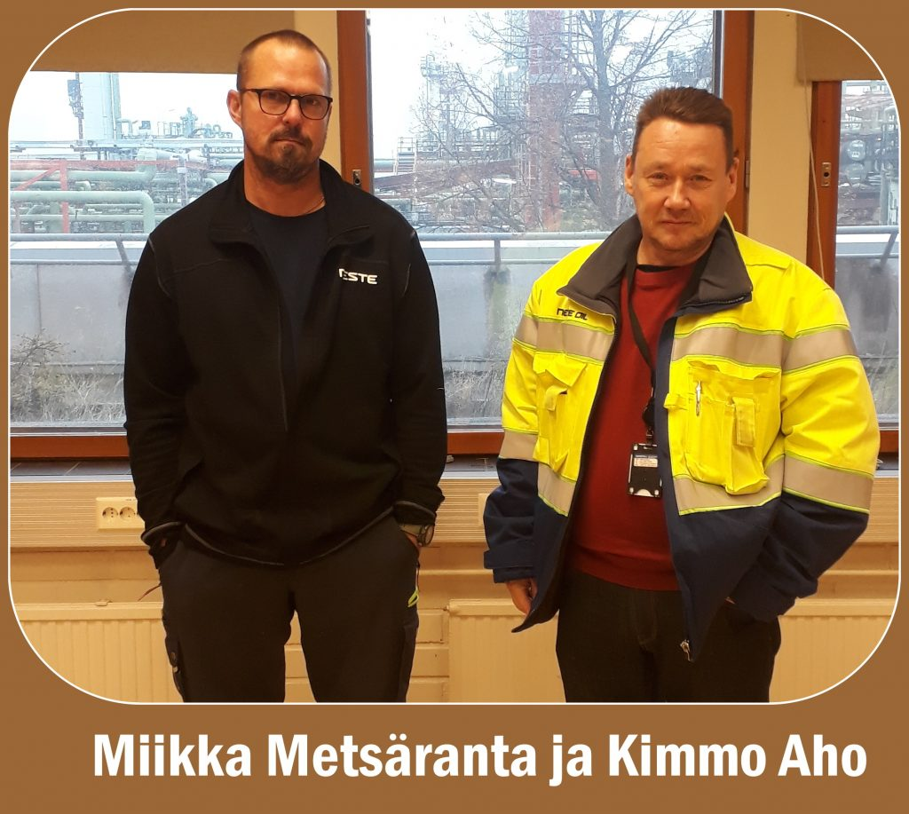 Kimmo Aho ja Miika Metsäranta valittiin 20201102
