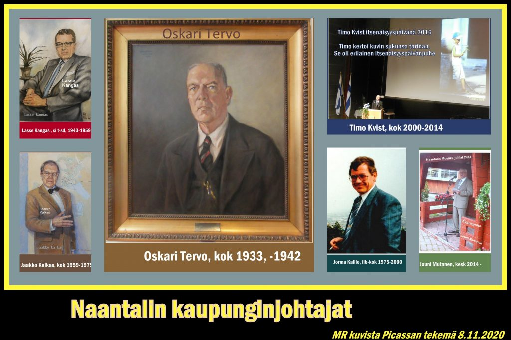 Naantalin Kaupunginjohtajat 20201108