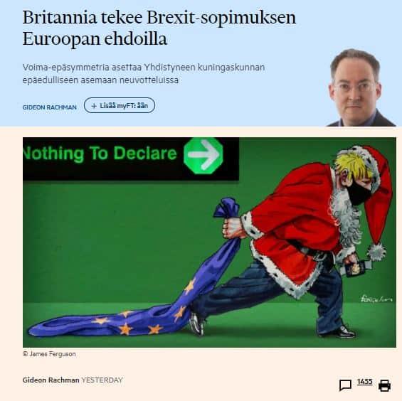 Britannia tekee sopimuksen Rachman 20201215PG