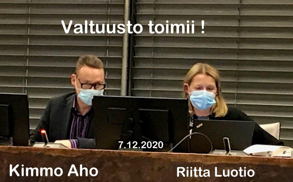 Kimmo Aho ja Riitta Luotio 20201207