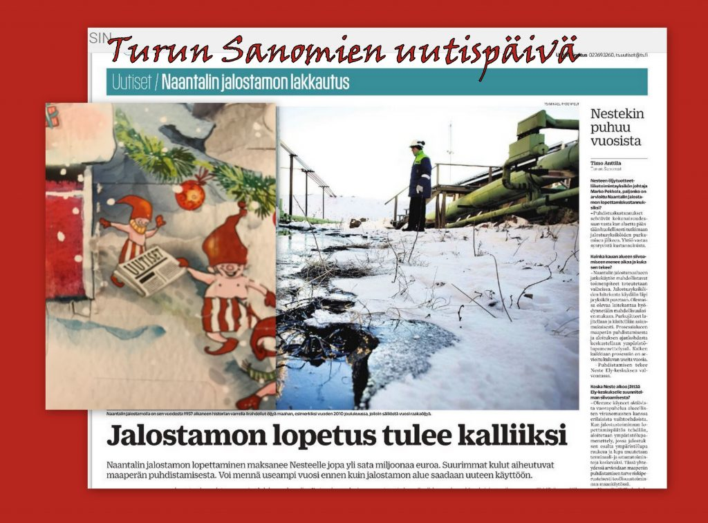 Turun sanomien uutispäivä 20201205