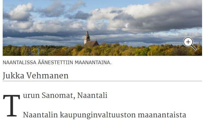 Valtuusto Ts Vehmanen 20201207