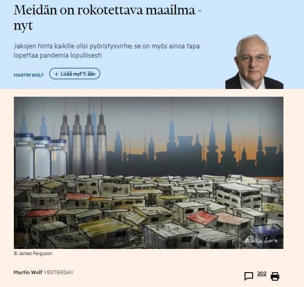Meidän on rokotettava koko maailma 20210209
