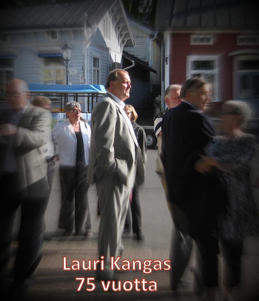 Lauri Kangas 75 vuotta kuva 20100609