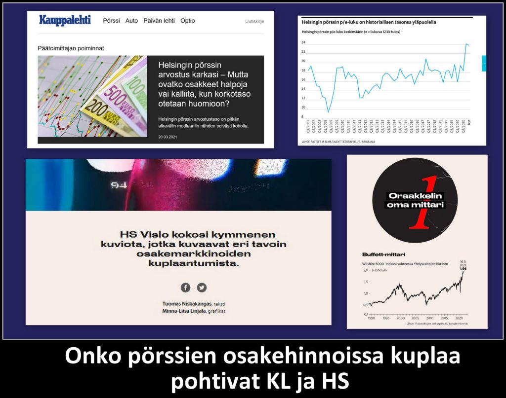 Pörssikuplaa HS ja KL 2021020