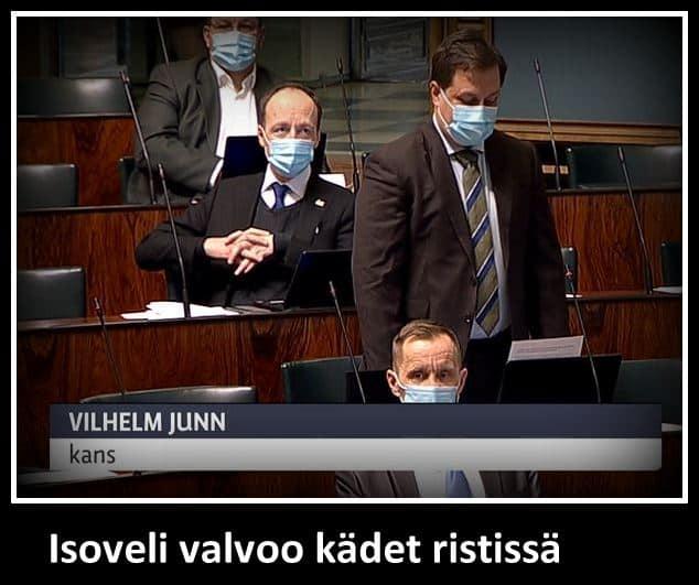 Vilhelm Junnila kyselytunnilla 20210311JPG