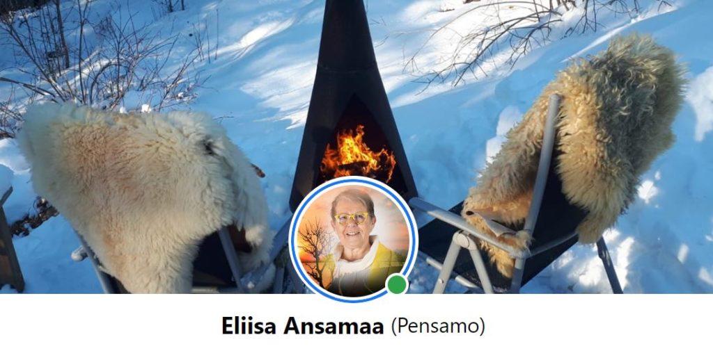 Eliisa Ansamaa 70 vuotta