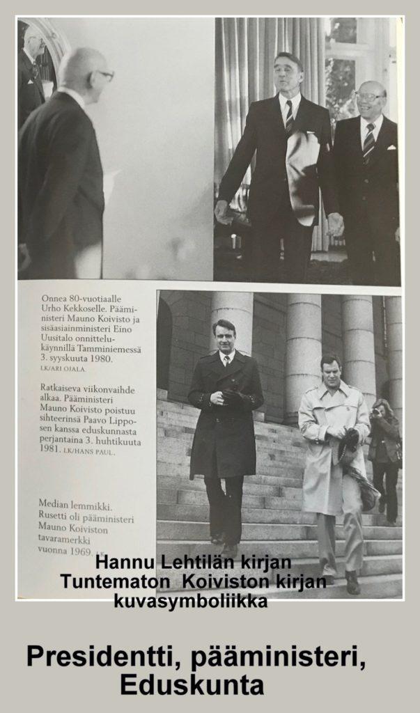 Koivisto Lehtilän kirjassa Tuntematon Koivisto 20210409