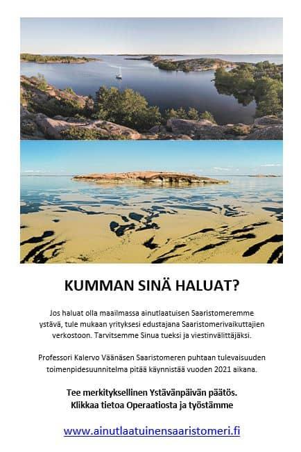 Ainutlaatuinen saaristomeri 20210304