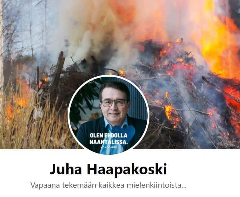 Juha Haapakoski fb 20210523