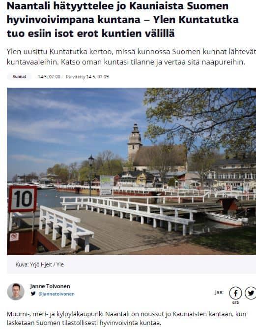 Naantali ja kauniainen 20210514