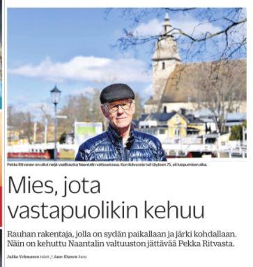 Pekka Ritvanen TS 20210521