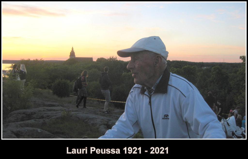 Lauri Peussa 1922-2021
