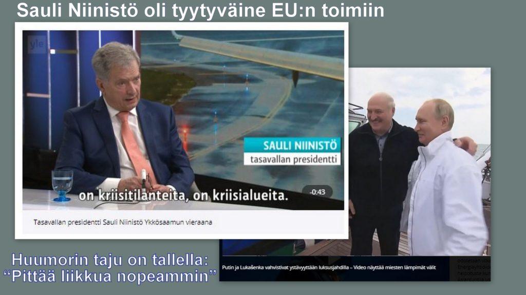 Niinistö ja peri presidenttiiä 20210529