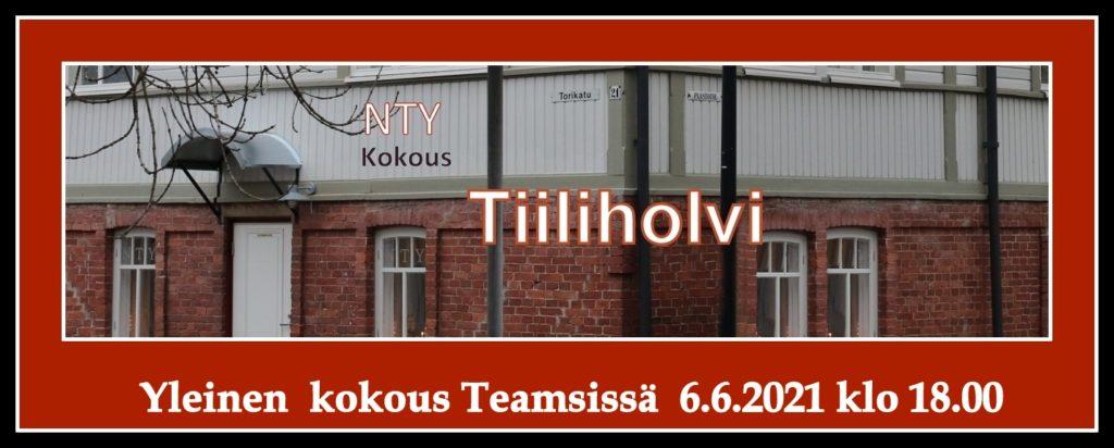 Tiiliholvi NTY kokous 20210601