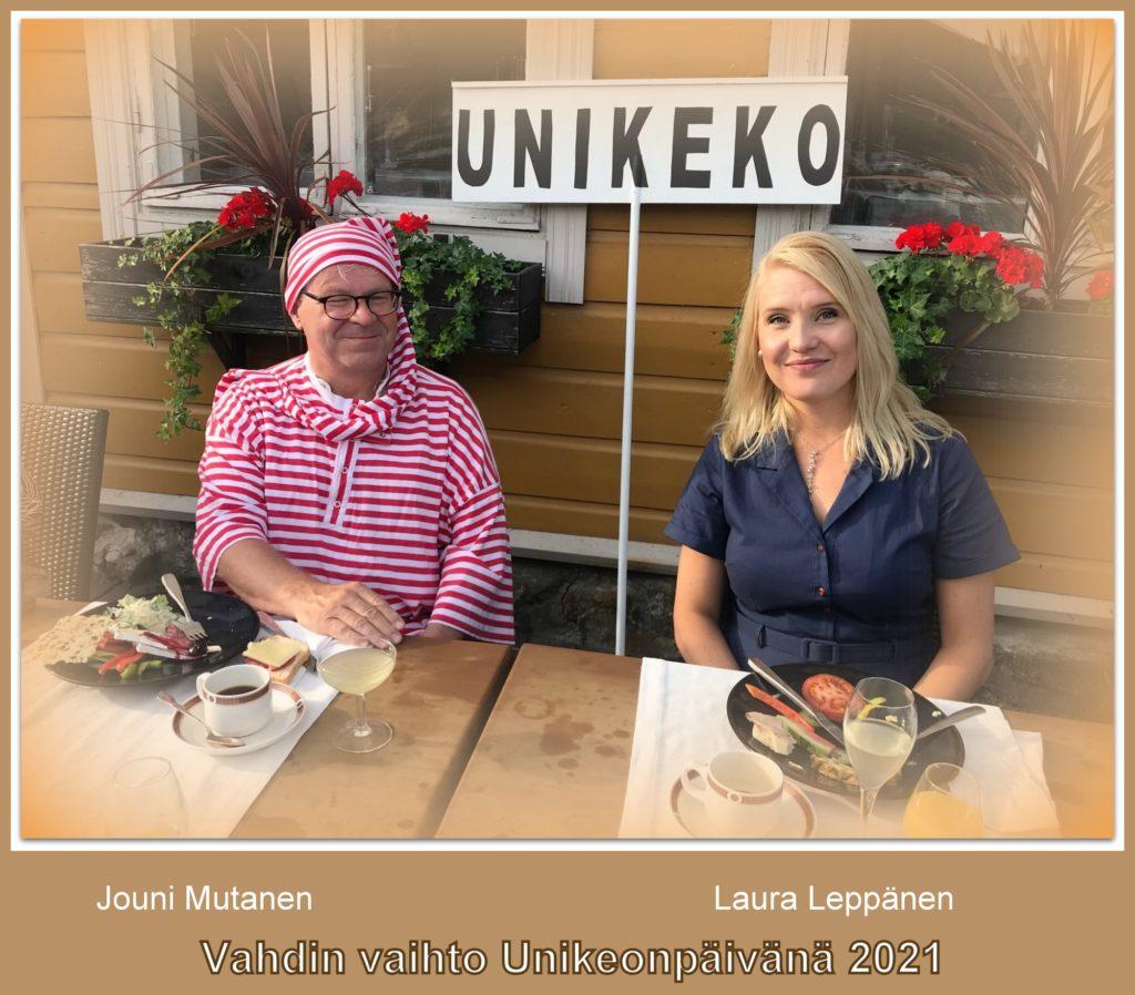 Jouni Mutanen ja Laura Leppänen 20210727