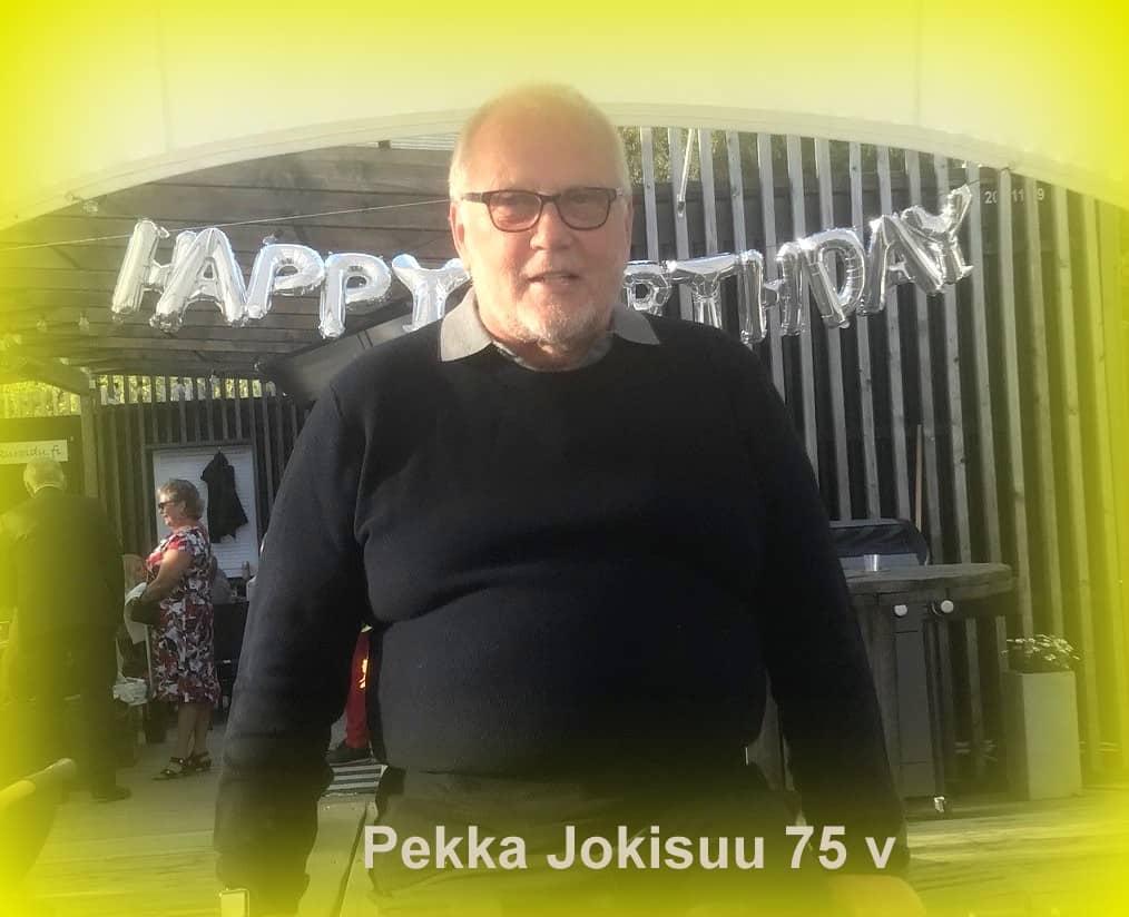 Pekka Jokisuu 75 vuotta