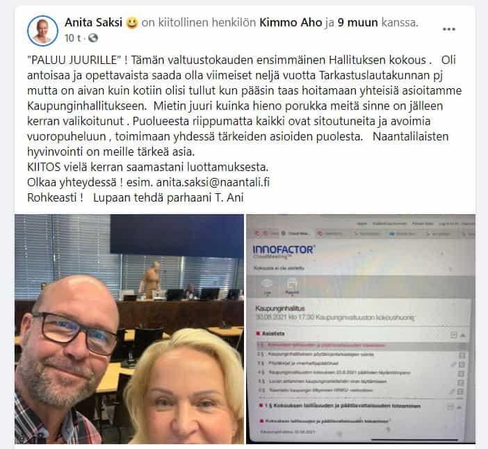 Ani Saksi kirjoittaa ja kuvaa kertoo