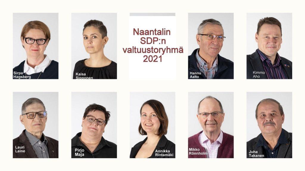 Valtuustoryhmä 2021