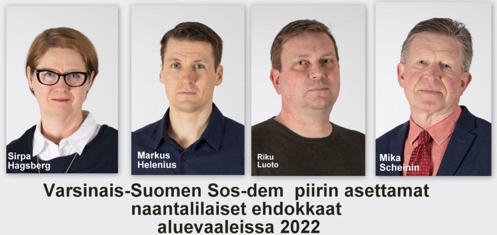 Aluevaalien naantalilaiset sod.dem ehdokkaat 20211010jpg